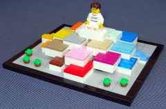 Lego House 4000010 Color