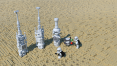 Imperials conducting investigations on Tatooine