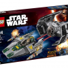 75150 Vader's TIE Advanced vs. A-wing Fighter