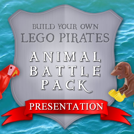 Build your own LEGO Pirates Animal Battle Pack Presentation