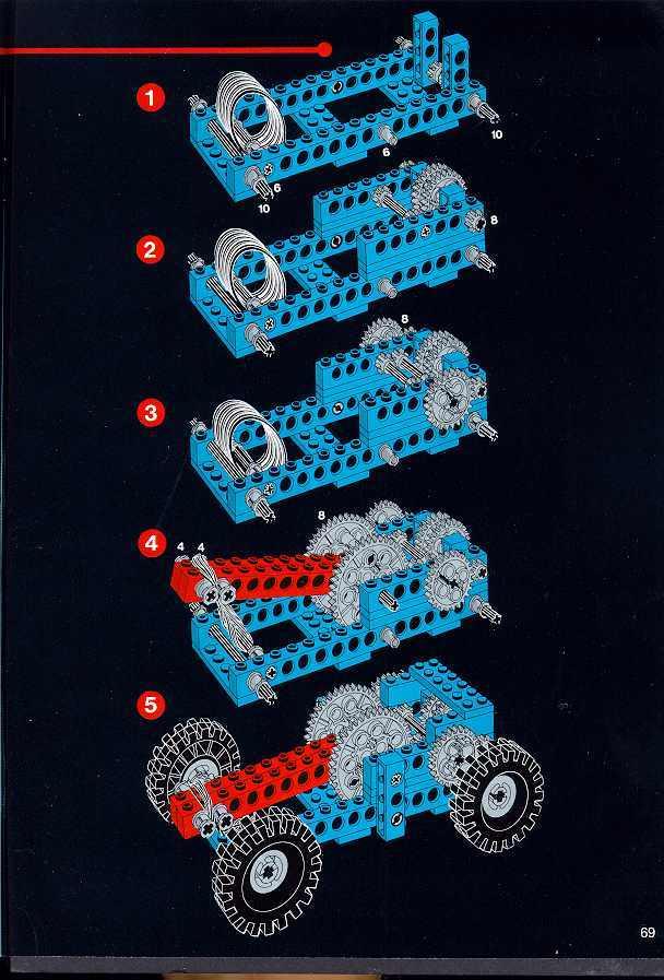 Lego Rubberband Vehicle Lego Technic Mindstorms Amp Model