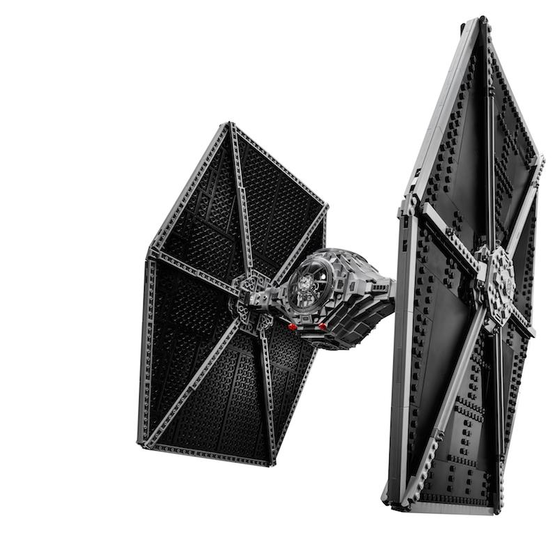 2015 UCS Ersatz Aufkleber//Sticker Set für LEGO Set 75095 TIE Fighter