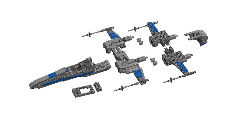 40910a202c7b MOC  T-70 X-Wing - LEGO Star Wars - Eurobricks Forums
