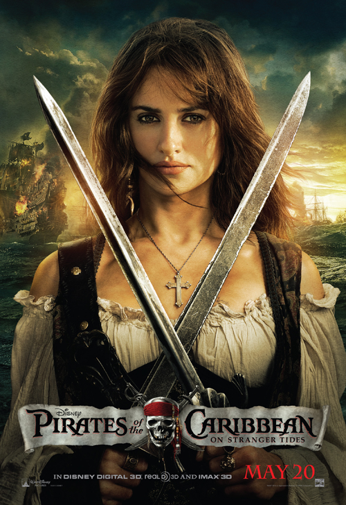 Pirates of the Caribbean - On Stranger Tides Official Movie Poster -  Angelica-Penelope Cruz.jpg