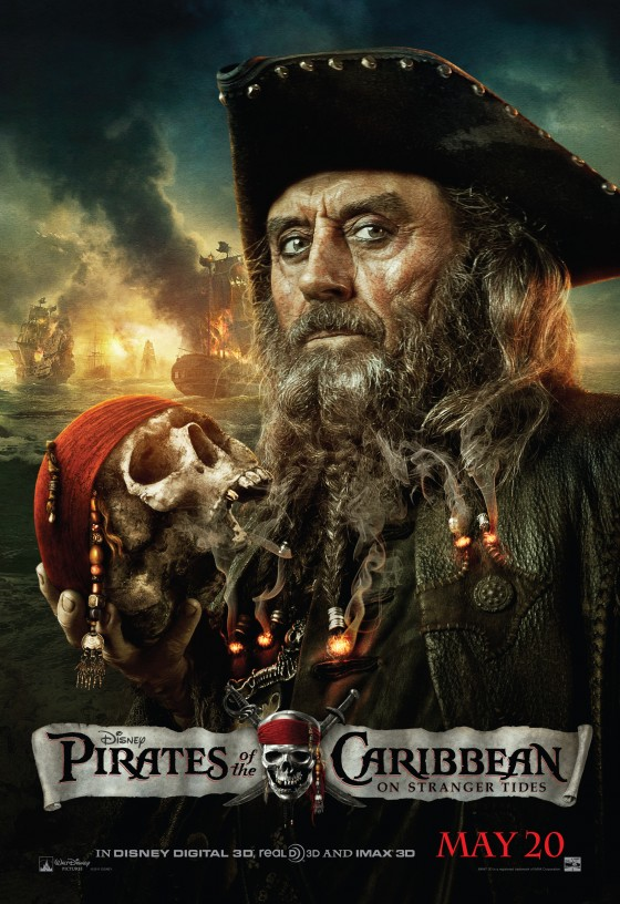 Pirates of the Caribbean - On Stranger Tides Official Movie Poster - Black Beard.jpg