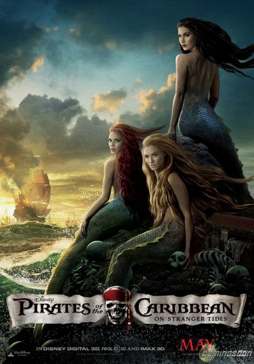 Pirates of the Caribbean - On Stranger Tides Official Movie Poster - Mermaids.jpg