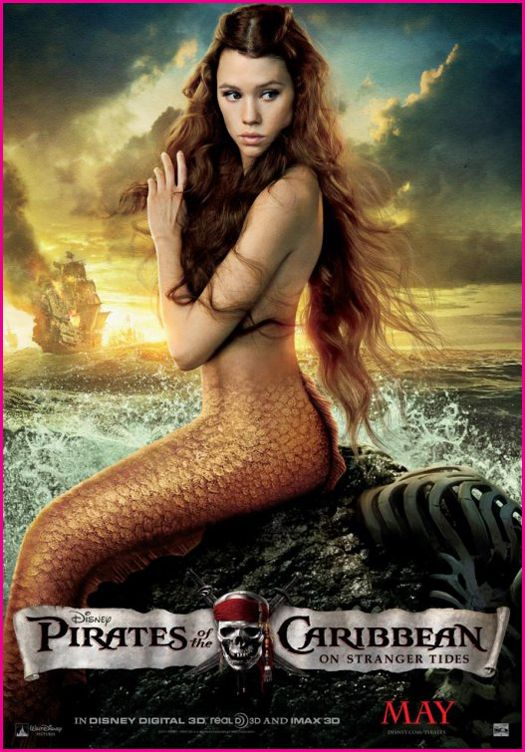 Pirates of the Caribbean - On Stranger Tides Official Movie Poster - Syrena.jpg