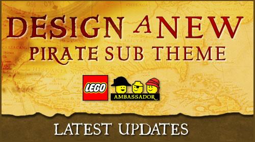 Design a NEW LEGO Pirate Sub-Theme