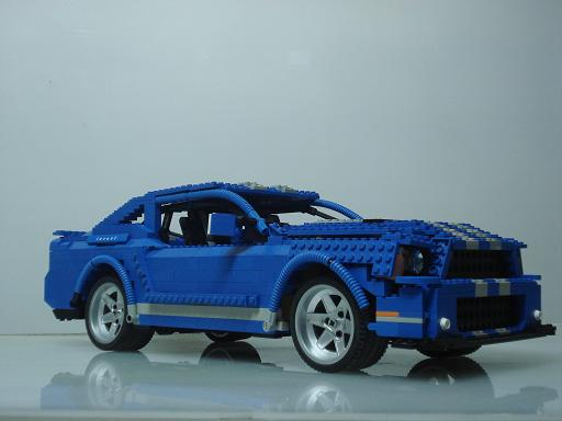 silcantar 39 s lego technic 1966 shelby mustang gt350 lego. Black Bedroom Furniture Sets. Home Design Ideas