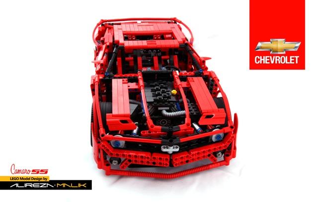 Chevrolet Camaro Ss V8 Lego Technic And Model Team Eurobricks Forums