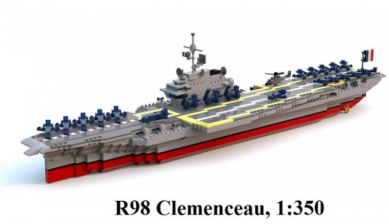 moc clemenceau aircraft carrier special lego themes eurobricks