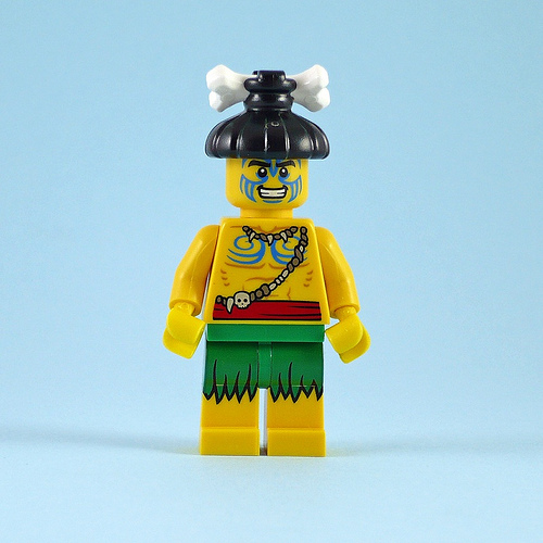 LEGO Minifig Series 11 - Island Warrior - No Mask.jpg