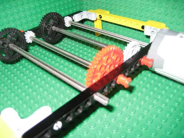 Cross Shaft Cross Axis Metal Lego Technic Axle Shaft Steel