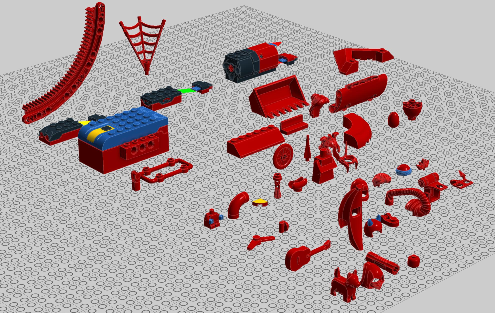 LDD 4 3 10 Update Released - LEGO Digital Designer and other