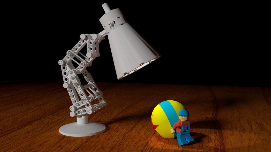 Moc Pixar Lamp Luxo Jr Lego Licensed Eurobricks Forums
