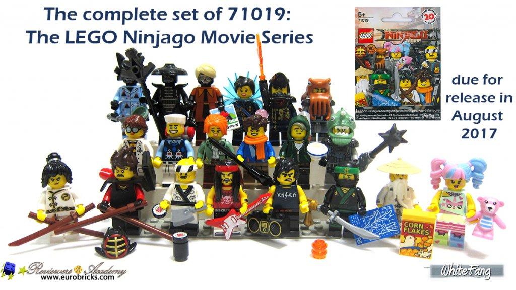 Review 71019 Lego Minifigures Ninjago Movie Series Frontpage News Eurobricks Forums