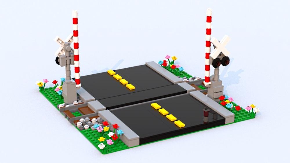 LEGO Realistic Railroad Crossing.jpg