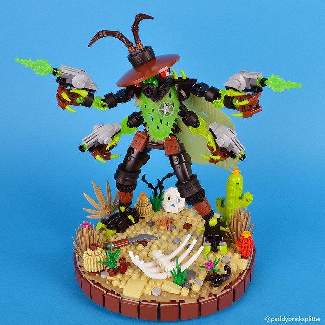[MOC] Alien Insectoid Gunslinger.jpg