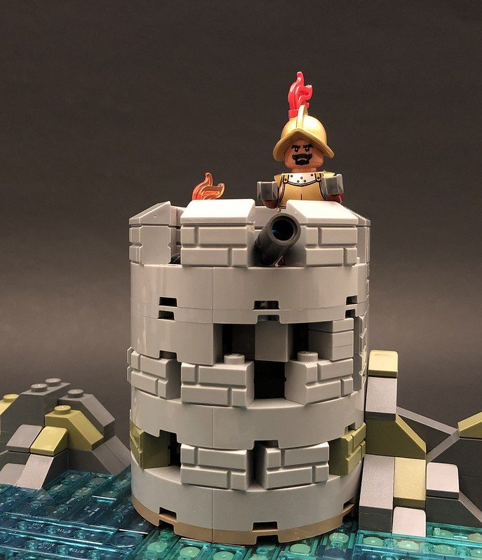 Spanish Fortress by MattedBricks