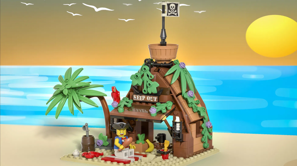 Mr Riggings Vacation by Bricky Brick