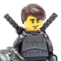 Lego 2 x Backpack Bag with Handle Utensil Bag 10169 Tan Medium Nougat