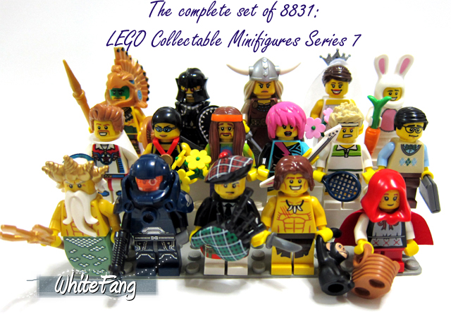 8831 Minifigures Series 7 Review